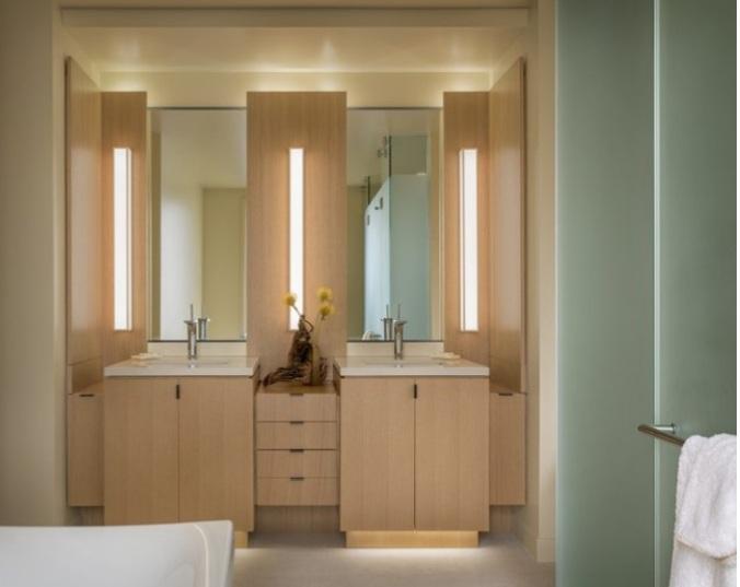 bố trí nội thất đẹp cho nhà tắm
