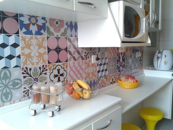 gạch bông đẹp ốp nhà bếp
