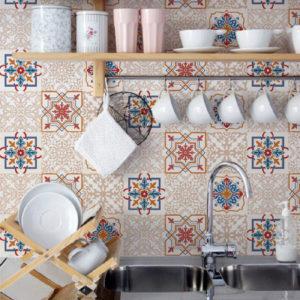 gạch trang trí nhà bếp