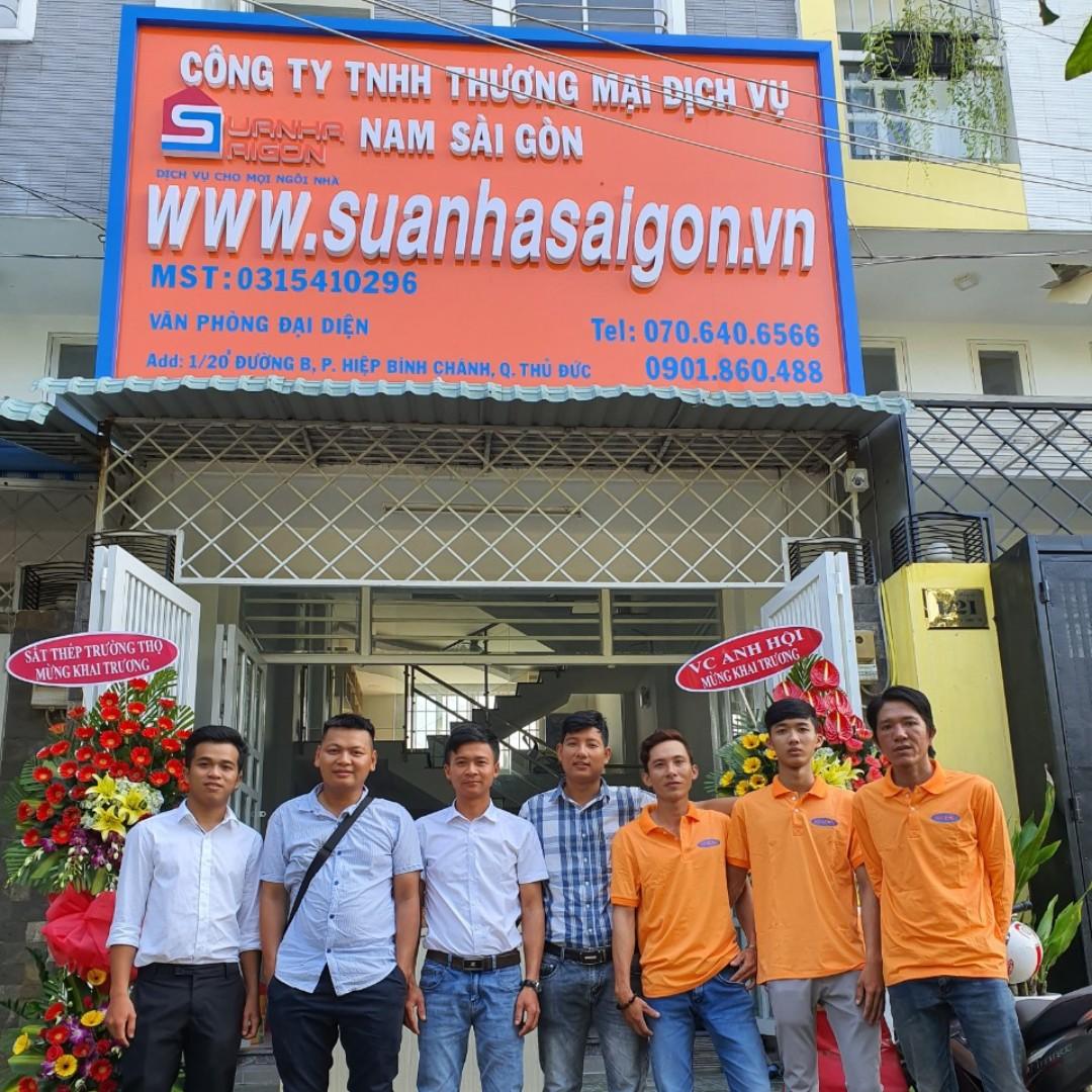 đội ngũ nhân viên Sửa Nhà Sài Gòn