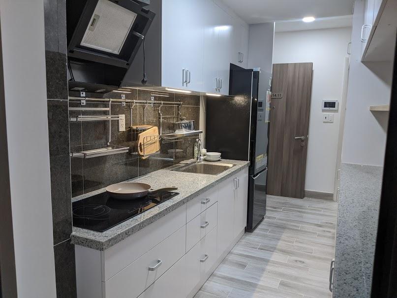 hoàn thành nội thất phòng bếp