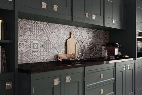 mẫu gạch bông trí trí nhà bếp