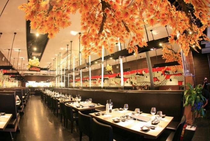những mẫu thiết kế nội thất đẹp cho nhà hàng