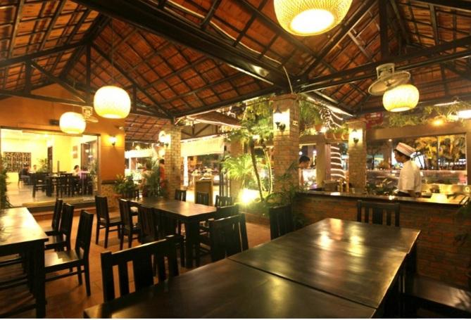 thi công thiết kế nội thất nhà hàng
