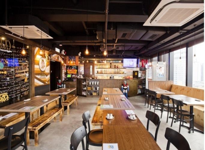 thiết kế nội thất nhà hàng đẹp sang trọng