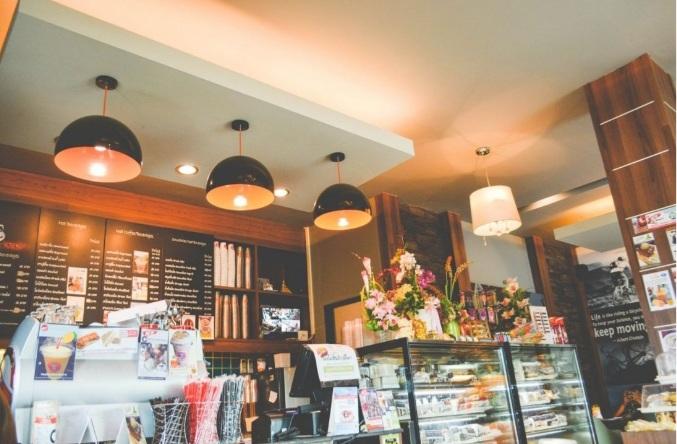 thiết kế trang trí nội thất nhà hàng