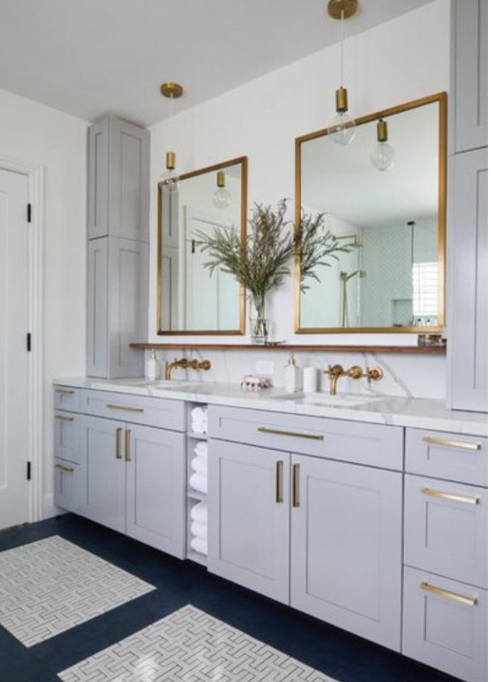 trang trí nội thất trong nhà tắm