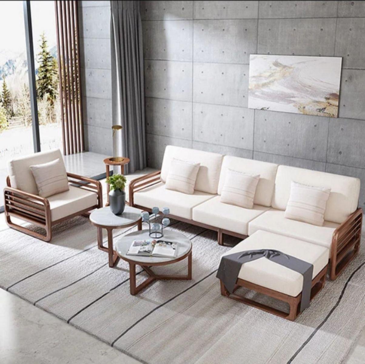 Ghế sofa màu trắng là sự ưu tiên của nhiều gia đình