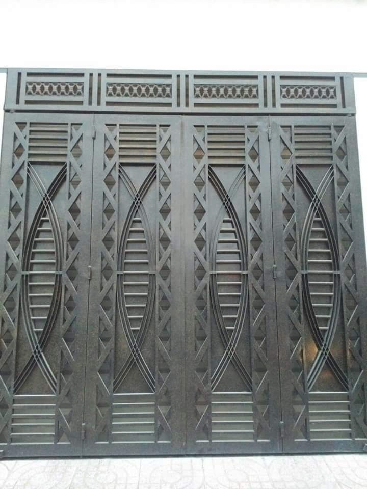 thi công cửa sắt