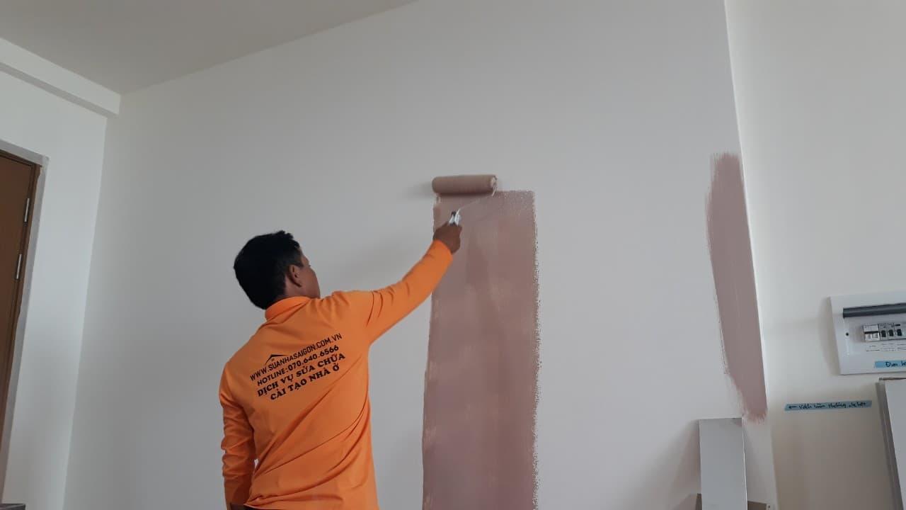 Dịch vụ sơn sửa nhà tại TP HCM