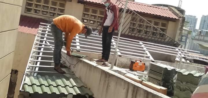 Thi công lợp mái nhà